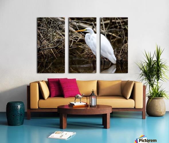 Great White Egret ap 2807 Toile Multi-Panneaux