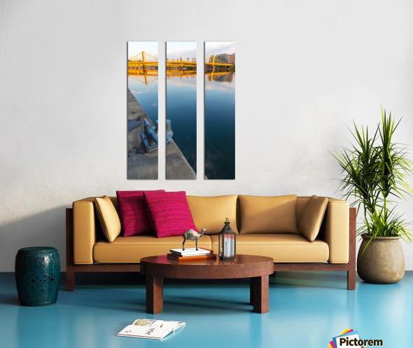 Barge Cleat ap 2877 Split Canvas print