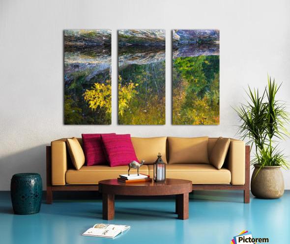 Reflection ap 2529 Split Canvas print