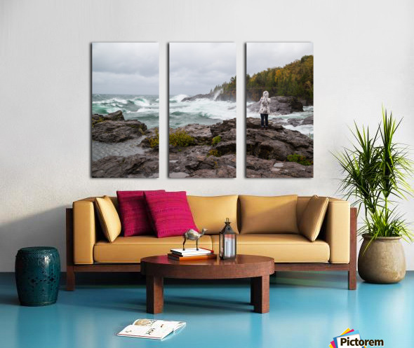 Crashing Waves ap 2605 Split Canvas print