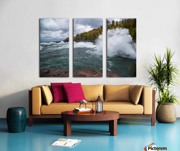 Splash 4 ap 2628 Split Canvas print
