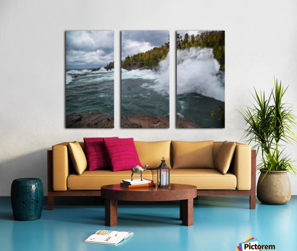Splash 5 ap 2629 Split Canvas print