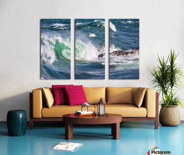Wave Curl ap 2663 Split Canvas print
