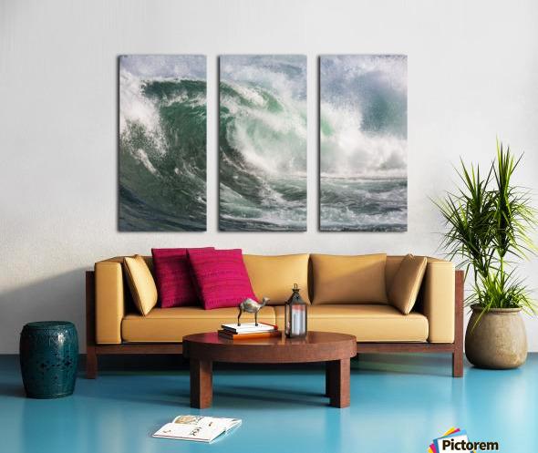 Wave Curl ap 2672 Split Canvas print
