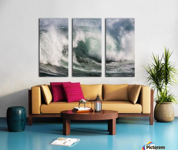 Wave Curl ap 2674 Split Canvas print