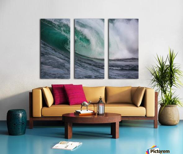 Wave Curl ap 2681 Split Canvas print