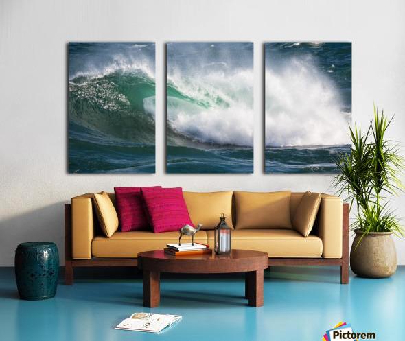 Wave Curl ap 2668 Split Canvas print
