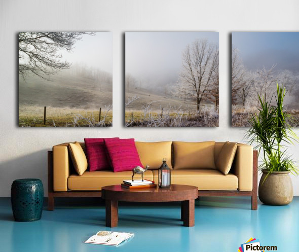 Pasture ap 2033 Split Canvas print