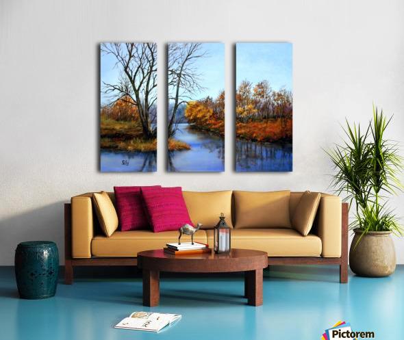 Autumns End Split Canvas print