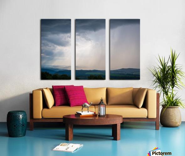 Moving Storm ap 2903 Split Canvas print