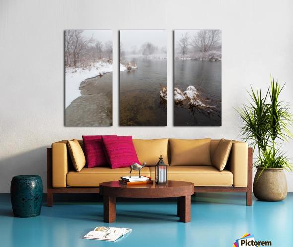 Snow Storm ap 2710 Split Canvas print