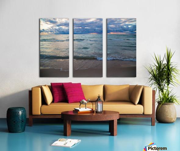 Sunset ap 2446 Split Canvas print