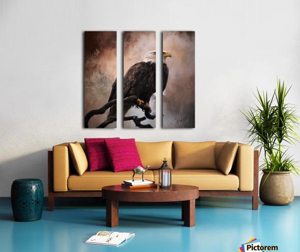 Looking Forward - Eagle Art by Jordan Blackstone Split Canvas print