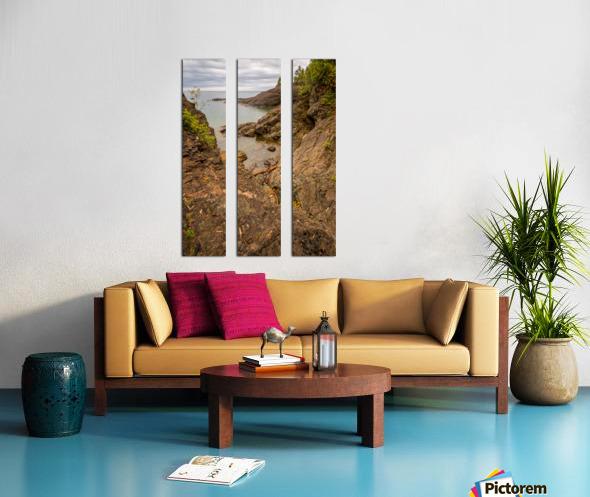 Lake Superior ap 2550 Split Canvas print