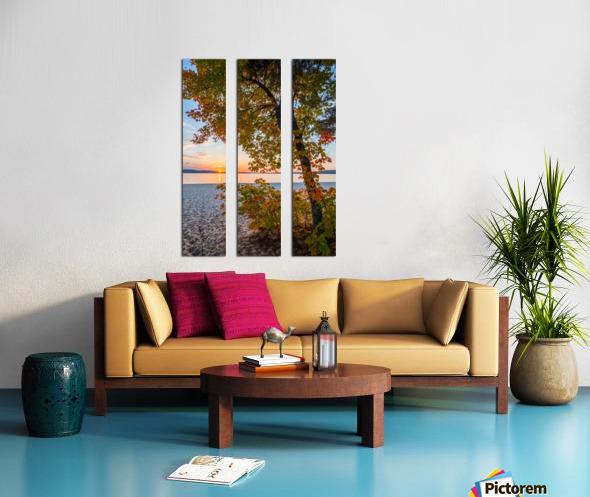 Sunset ap 2574 Split Canvas print