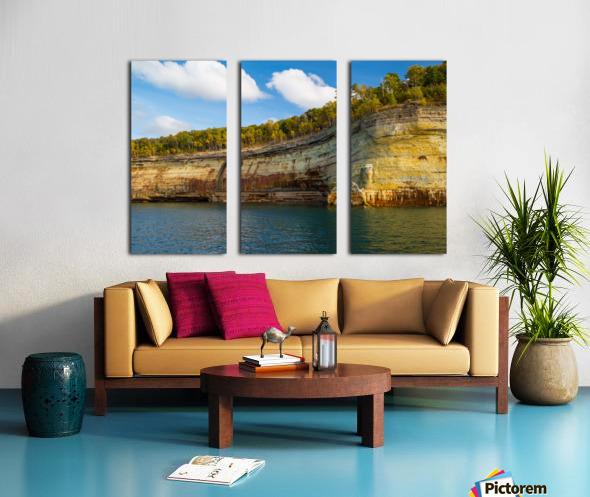 Water Colors ap 2492 Split Canvas print