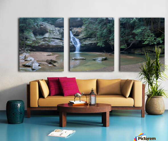 Cedar Falls apmi 1627 Split Canvas print