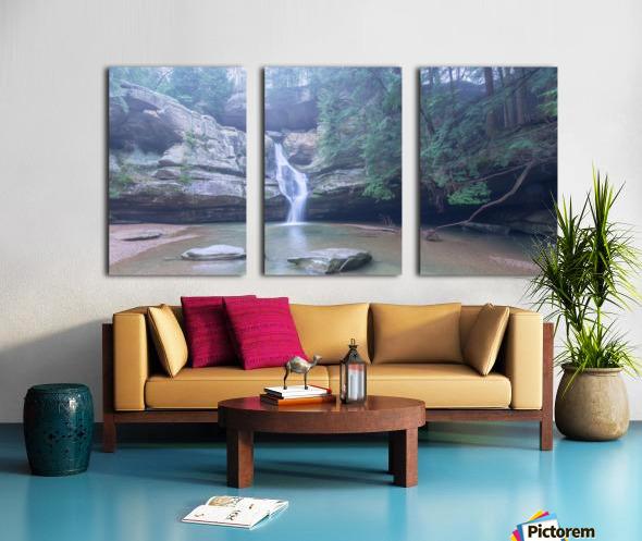 Cedar Falls apmi 1633 Split Canvas print