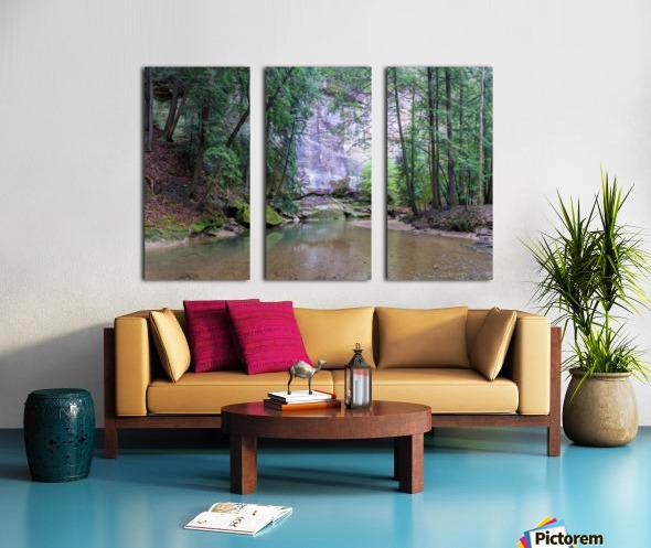 Water Colors apmi 1636 Split Canvas print