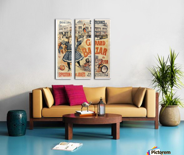 Grand Bazar Split Canvas print