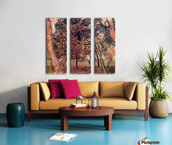 Study of Pine Trees by Van Gogh Split Canvas print