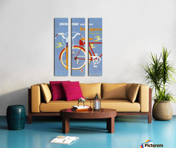 Bicycle Hidori Split Canvas print