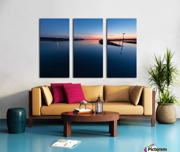 Assateague Light ap 2763 Split Canvas print