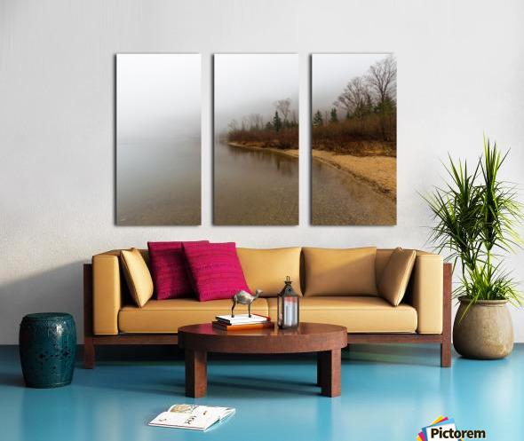 Profile Lake ap 2192 Split Canvas print