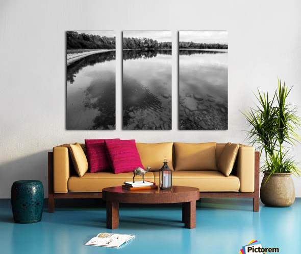 Reflection ap 2595 B&W Split Canvas print