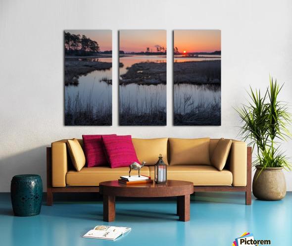 Sunrise ap 2786 Split Canvas print