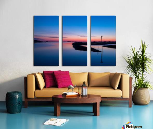 Sunset ap 2762 Split Canvas print