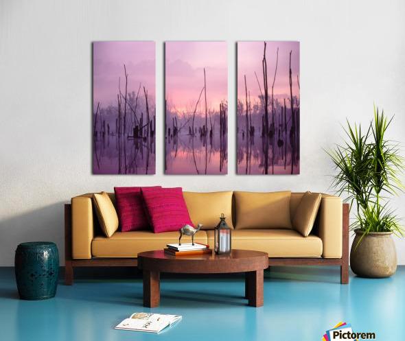 Sunrise ap 1501 Split Canvas print