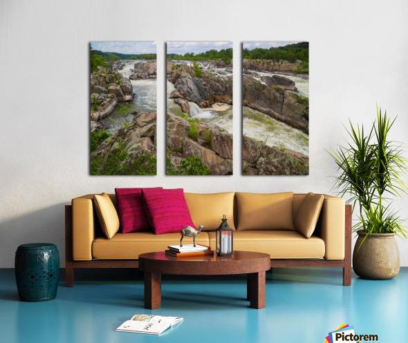 Great Falls ap 2019 Split Canvas print