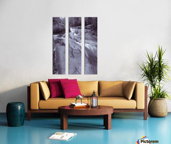 The Basin ap 2162 B&W Split Canvas print