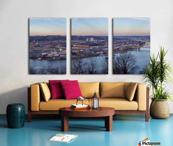 Heinz Stadium apmi 1511 Split Canvas print
