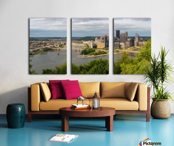 Pittsburgh apmi 1693 Split Canvas print