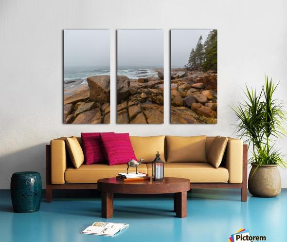 Boulders ap 2254 Split Canvas print