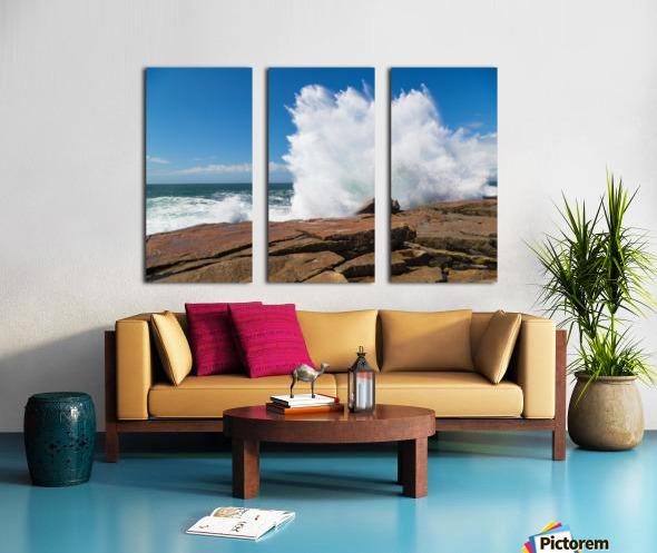 Crashing Wave ap 2309 Split Canvas print