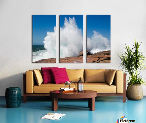 Crashing Wave ap 2320 Split Canvas print