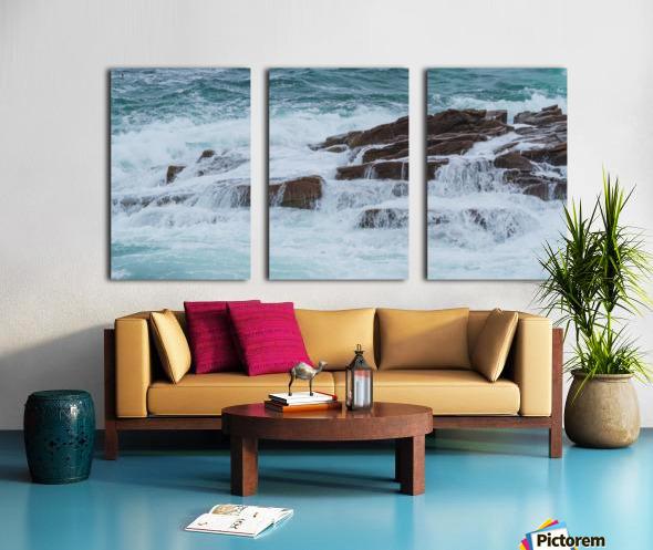 Crashing Waves ap 1535 Split Canvas print