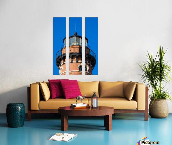 Fresnel Lens ap 2444 Split Canvas print