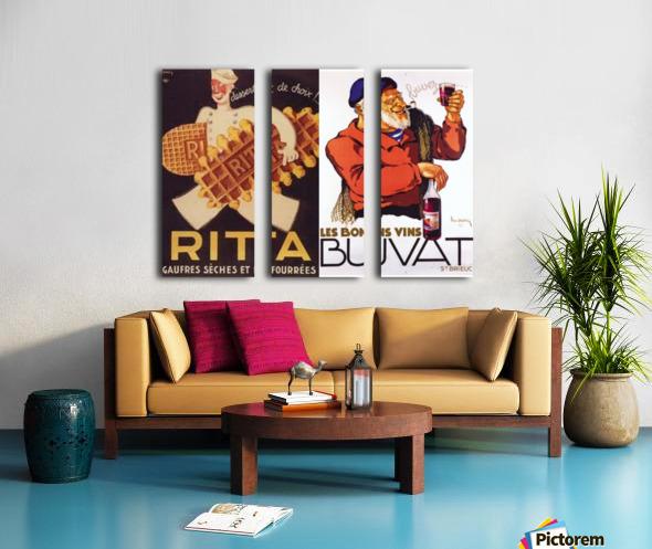 Rita Buvat Split Canvas print