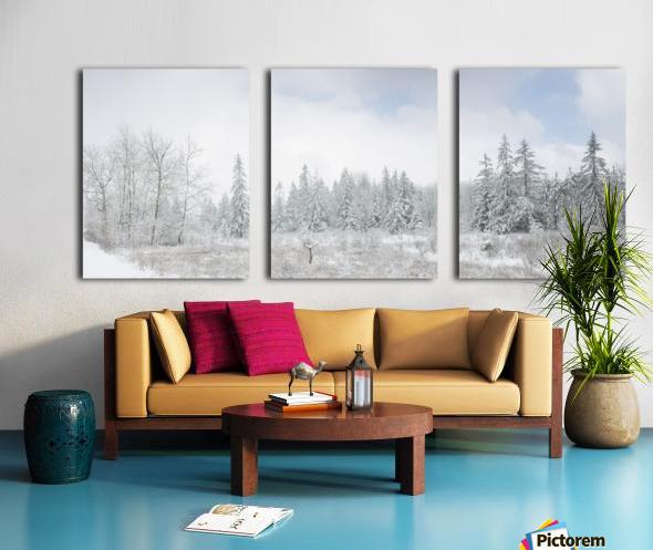 Treeline apmi 1588 Split Canvas print