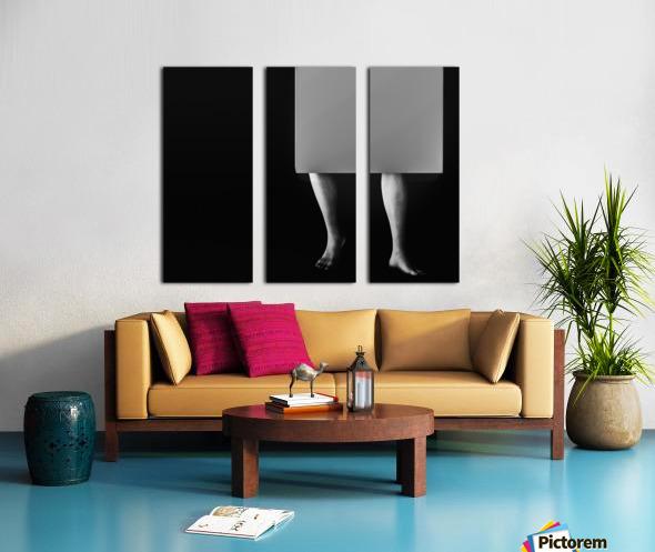 Life In A Box 2 Split Canvas print