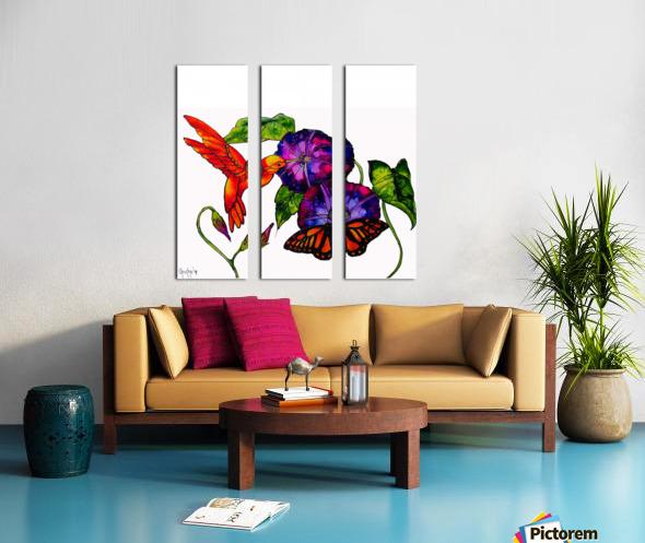 Spring Symphony Split Canvas print