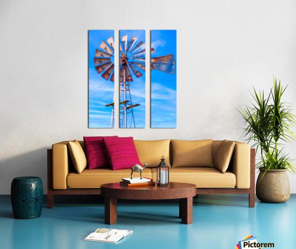 Uncle Sams Windmill Split Canvas print