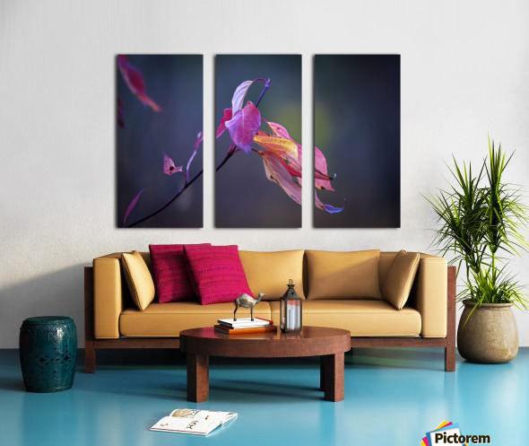 Fall Leaves Us Wanting More Split Canvas print