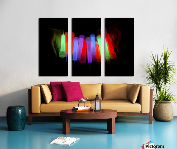 Lightstick Split Canvas print