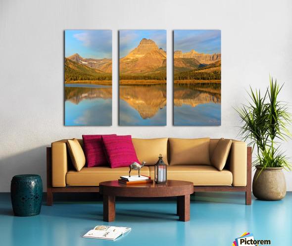 Glacier National Park Montana Split Canvas print