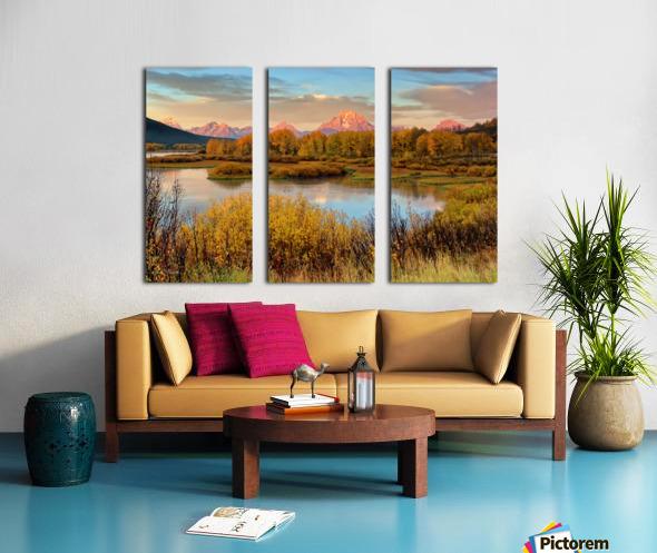 Grand Teton National Park Split Canvas print
